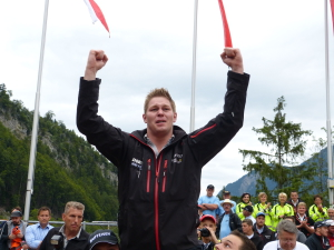 Festsieger Berhard Kämpf